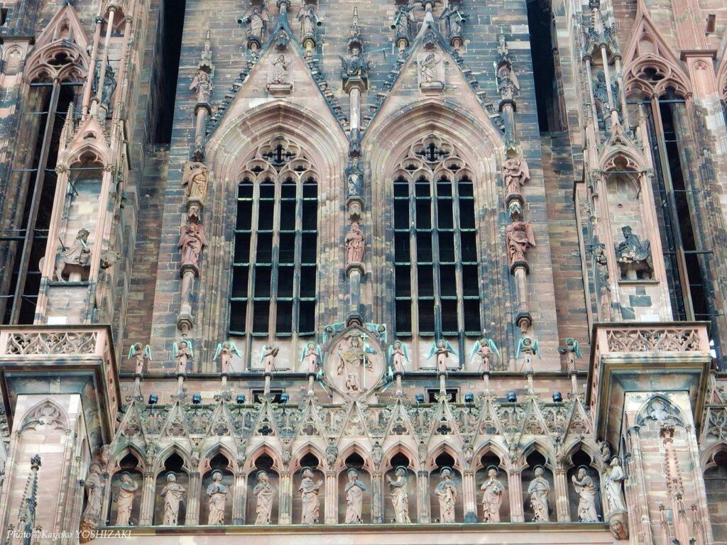 ストラスブール大聖堂の鐘楼部分