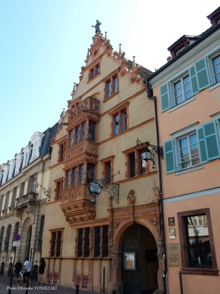 Colmar-façade de la Maison des tetes