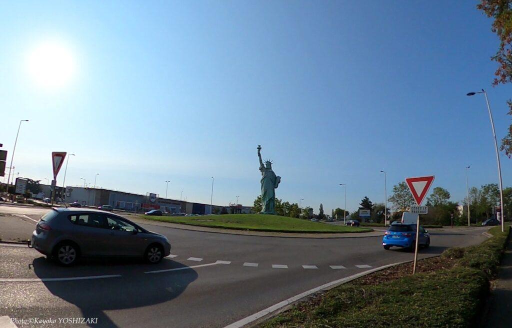 Colmar-Statue de la liberté
