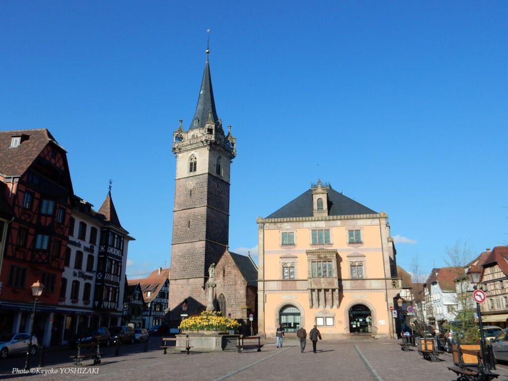Place du marché d'Obernai