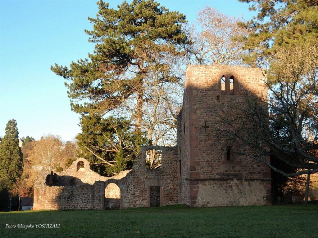 Ruines de l'Eglise Saint-Jean-Baptiste