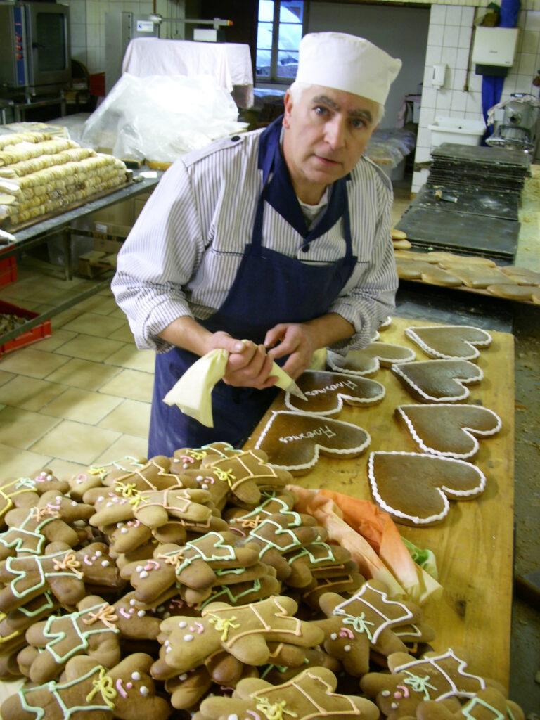 Fabrication de pains d'épices chez Lips