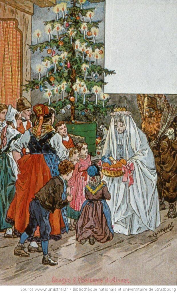 La veille de Noël, KAUFFMANN Paul (1849-1940)