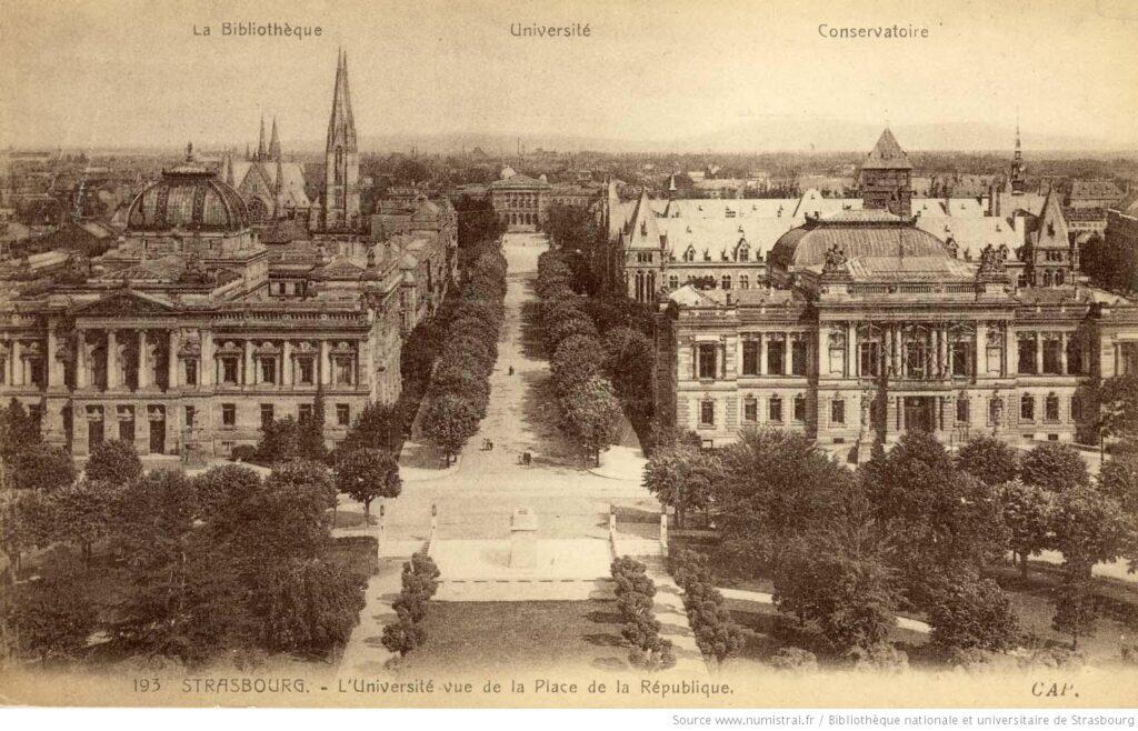 Strasbourg-Université-Vue