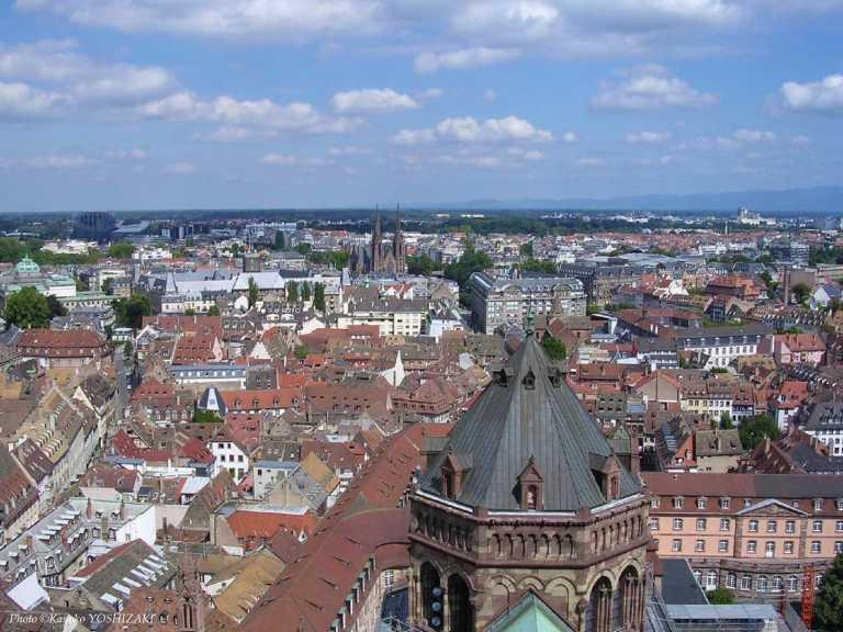 strasbourg-vue-de-la-cathedrale